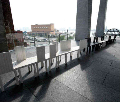 Quirky Continuous Benches