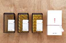 Elaborately Patterned Infusions - Alishan Tea Packaging Manages to Strike a Clarified Complexity