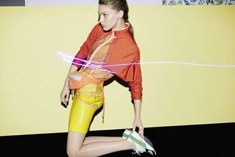 Neon-Fueled Sport Campaigns