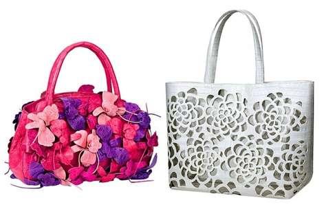 Punchy Exotic Skin Handbags