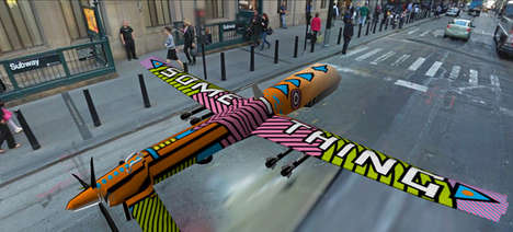 Dystopic Plane Art