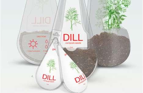 Raindrop Herb Branding