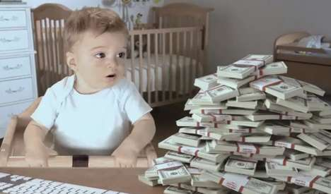 Talking Toddler Tax Ads