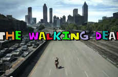 Cheerful Zombie Show Intros - Matincomedy Hilariously Reimagines The Walking Dead as a Cheesy Sitcom
