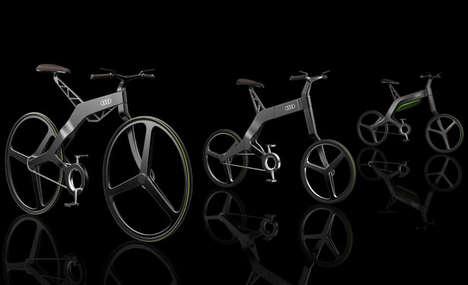 Futuristic Bavarian Automaker Bikes