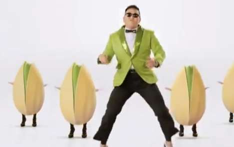 Dancing Pistachio Viral Ads - This Psy Super Bowl Commercial Re-Visits Gangnam Style