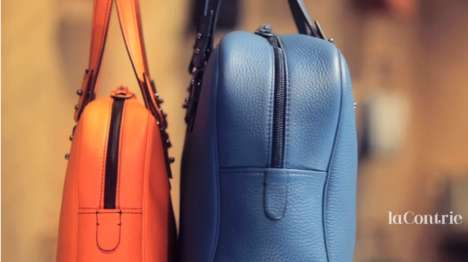 Made-to-Order Parisian Leather Goods