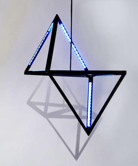 Futuristic Symmetric Lighting
