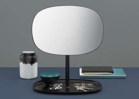 Ultra-Minimalist Flip Mirrors