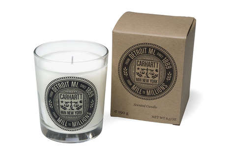 The Carrhartt WIP NYC x Min Candles are Masculine Scented