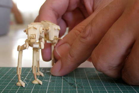 DIY Sci-Fi Vehicle Models