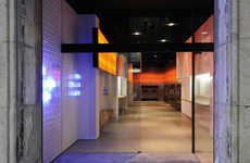 Lounge-Like Launderettes - Splash Launderette in Barcelona is Trendy with a Night Club Interior
