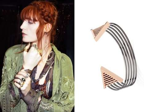 The Florence Welch Jewelry Line Encapsulates Her Iconic Look