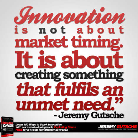 Innovation Fufils an Unmet Need