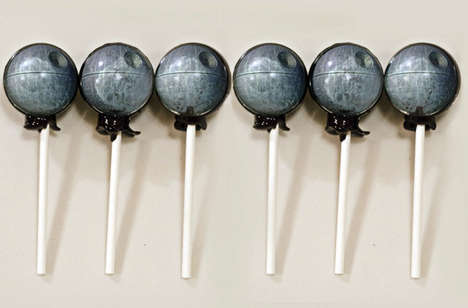 Intricate Sci-fi Lollies