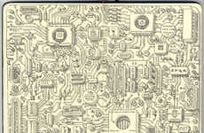 Detailed Moleskine Sketches (UPDATE) - Mattias Adolfsson Has a New Batch of Great Moleskine Sketches