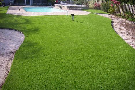 Realistic Artificial Lawns