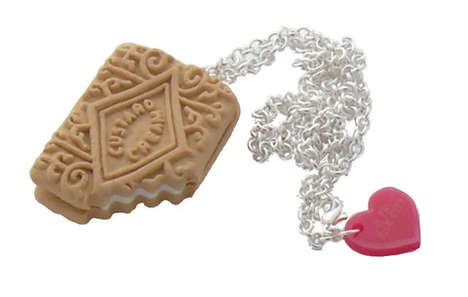 Bitten Biscuit Necklaces