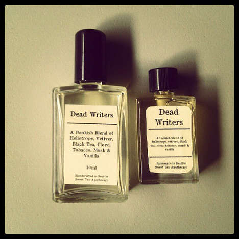 Deceased Author Fragrances