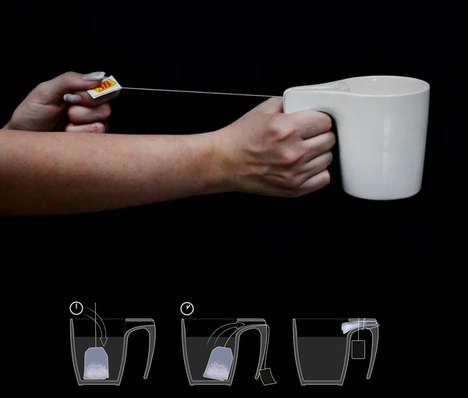 Slit Handle Mugs