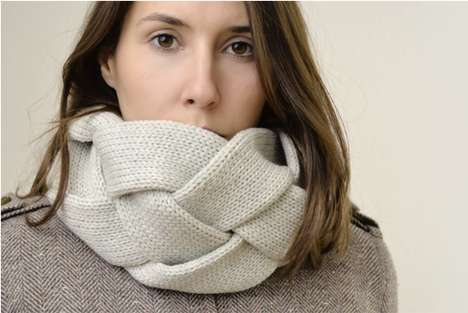 Cozy Braided Winter Wear