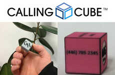 3D-Printed Business Cards - The CallingCube Makes Professional Exchanges Unforgettable
