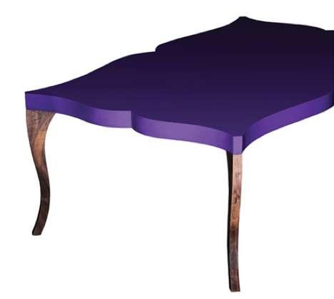 Elegantly Contoured Tabletops