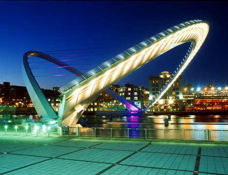 Illuminated Structure Captures