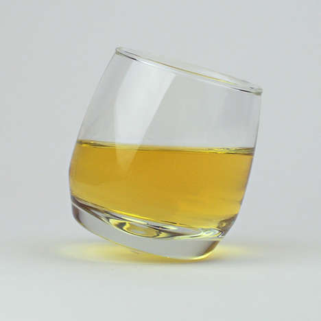 Pivoting Whiskey Tumblers