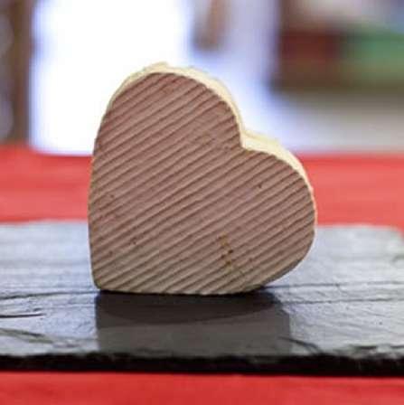 Cheesy Heart-Shaped Treats
