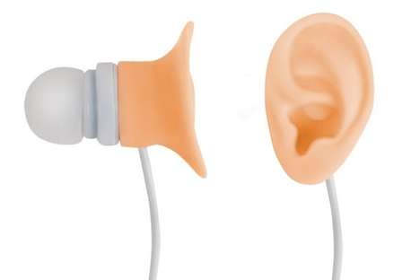 Ear-Shaped Earbuds