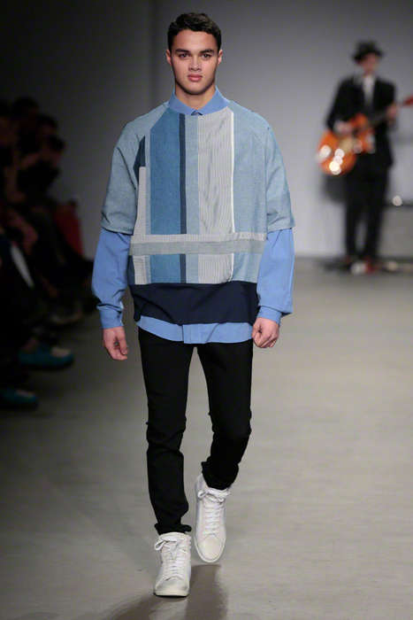 Patchwork Denim Runways