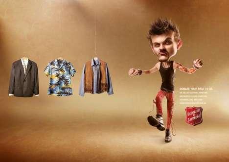 Fashion Faux Pas Campaigns