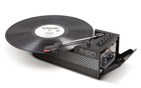 Ultra-Portable Vinyl Players