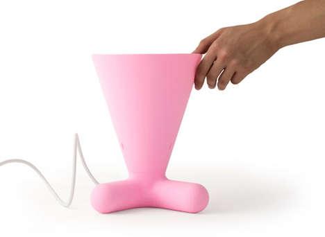 Animalistic Cone Lighting