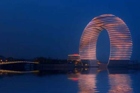 Luminescent Horseshoe Hotels