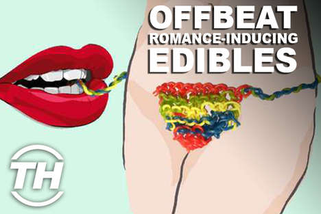 Offbeat Romance-Inducing Edibles