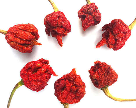 Fiery Hot Dried Peppers