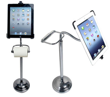 Bathroom Tissue Tablet Stands