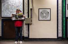 London Underground Art Installations - The Labyrinth Project Celebrates the Tube's 150th Birthday