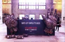 Live Action Zombie Campaigns - This Walking Dead Exhibit Will Make Your Skin Crawl