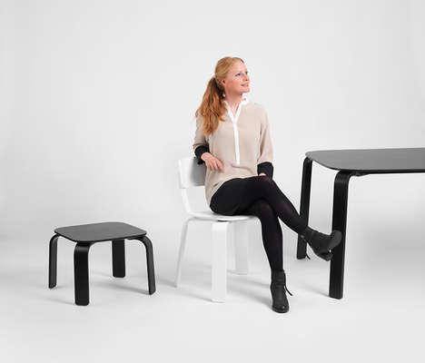 Minimalist Flat-Pack Furniture