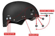 Video Head Helmets - Put Your Head in the Future with This Portable Recorder