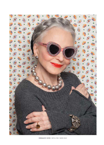 ebbab9e80fe0 Granny-Modeled Sunglasses : Karen Walker Eyewear Summer 2013