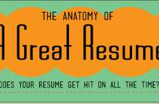 Cheeky Resume Infographics - TopCounsellingSchools.org Approaches Resume Help in a Humorous Way