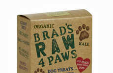 Eco-Conscious Dog Desserts - These Raw Dog Treats From 'Raw 4 Paws' Are Organic and Sust
