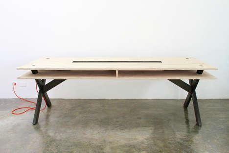Double-Surfaced Desks
