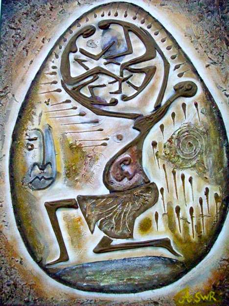 Vibrantly Symbolic Paintings