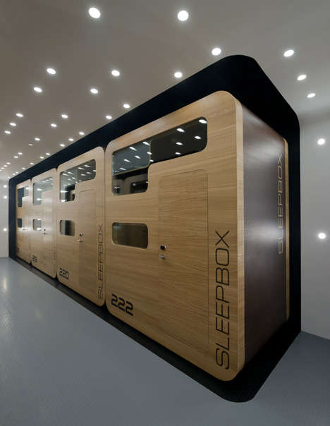 Boxed Bedding Hotels - Arch Group Presents a Hotel Made from Modular Sleeping Rooms