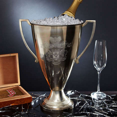 Trophy-Shaped Wine Chillers - This Creative Alcohol Holder Makes You Feel Like a Champion